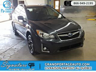 Used 2016 Subaru XV Crosstrek Touring Manuelle AWD *CLEAN for sale in Rivière-Du-Loup, QC