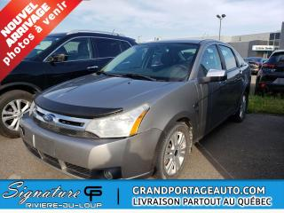 Used 2008 Ford Focus for sale in Rivière-Du-Loup, QC