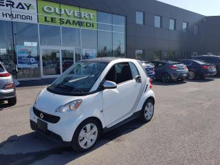 Used 2015 Smart fortwo !! 2917 km !! pure, cuir, nav, banc chauffant for sale in Chambly, QC