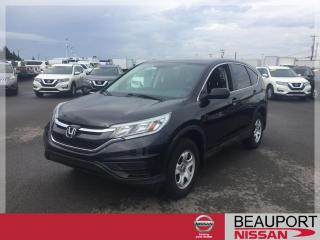 Used 2015 Honda CR-V LX ***GARANTIE PROLONGÉE*** for sale in Beauport, QC