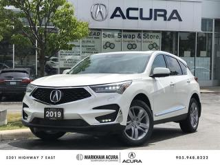 Used 2019 Acura RDX Platinum Elite at Heads Up Disp, Pano Roof, ELS *3D* Audio for sale in Markham, ON