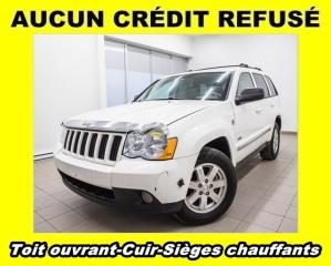 Used 2008 Jeep Grand Cherokee LAREDO DIESEL CUIR SIÈGES CHAUFF *TOIT OUVRANT* for sale in St-Jérôme, QC