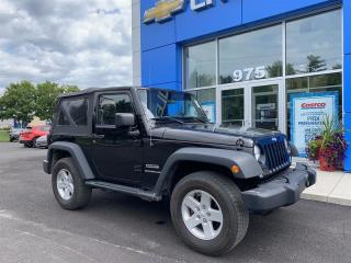 Used 2015 Jeep Wrangler UNLIMITED SPORT for sale in Gatineau, QC