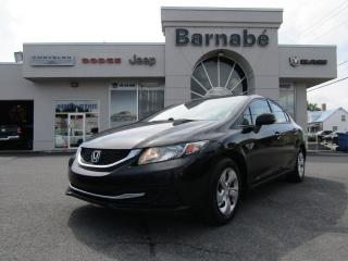 Used 2013 Honda Civic for sale in Napierville, QC