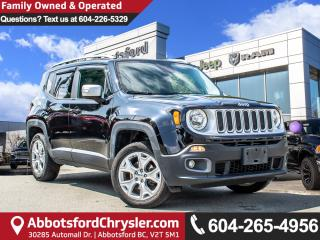 Used 2016 Jeep Renegade Limited *ACCIDENT FREE* *LOCALLY DRIVEN* for sale in Abbotsford, BC