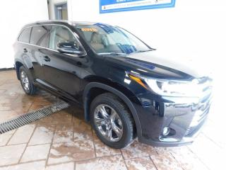 Used 2019 Toyota Highlander LIMITED  for sale in Listowel, ON