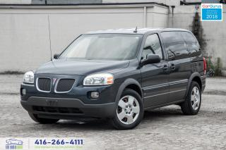 Used 2008 Pontiac Montana 1 Owner Clean Carfax Certified Serviced Clean for sale in Bolton, ON