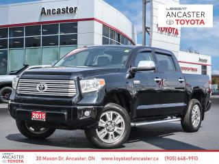 Used 2015 Toyota Tundra PLATINUM - 1 OWNER|NAVI|LEATHER|FULLY LOADED for sale in Ancaster, ON