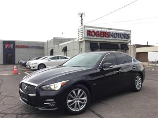 Used 2016 Infiniti Q50 2.0T AWD - NAVI - 360 CAMERA - SUNROOF for sale in Oakville, ON