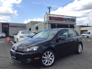 Used 2013 Volkswagen Golf TDI - NAVI - LEATHER - SUNROOF - HIGHLINE for sale in Oakville, ON
