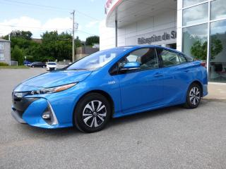 Used 2017 Toyota Prius Prime Hybride - Technologie - Bluetooth - GPS for sale in Trois-Rivières, QC
