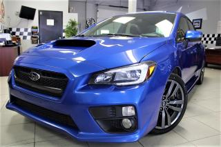 Used 2016 Subaru WRX Sport-tech Package SPORT TECH!! NAVI!! LEATHER!! ROOF!! REVERSE CAM!! for sale in Bolton, ON
