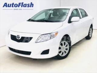 Used 2010 Toyota Corolla CE 1.8L * A/C * Extra-Clean! 42,000 km !!! for sale in St-Hubert, QC
