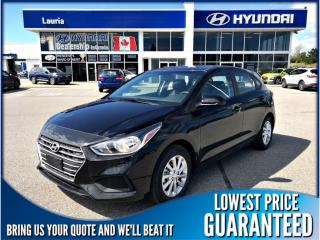 New 2019 Hyundai Accent 5DR Preferred Manual for sale in Port Hope, ON