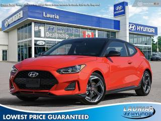 New 2020 Hyundai Veloster Turbo Manual w/Two-Tone Roof for sale in Port Hope, ON