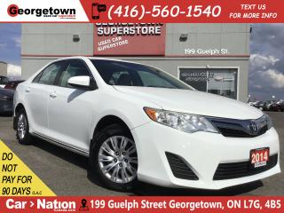 Used 2014 Toyota Camry LE | BLUETOOTH | BACK UP CAMERA | 2.5L 4CYL | for sale in Georgetown, ON