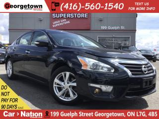 Used 2013 Nissan Altima 2.5 SL  NAVI  LEATHER  ROOF  BACK UP CAM for sale in Georgetown, ON