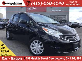 Used 2014 Nissan Versa Note 1.6 SV | BLUETOOTH | XM RADIO | AUX/USB IN | for sale in Georgetown, ON