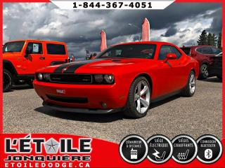 Used 2008 Dodge Challenger SRT-8, TOIT OUVRANT, SIEGES EN CUIRS for sale in Jonquière, QC