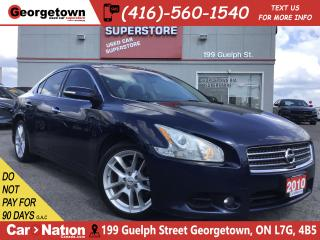 Used 2010 Nissan Maxima LEATHER | CAMERA | DUAL SUNROOF | 3.5L V6 for sale in Georgetown, ON