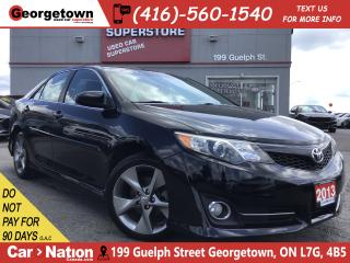 Used 2013 Toyota Camry SE | NAVI | LEATHER | SUNROOF | SKIRT PKG | for sale in Georgetown, ON