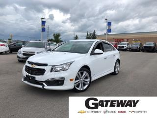 Used 2015 Chevrolet Cruze LTZ|Leather|Navigation|Heated Seats| for sale in Brampton, ON