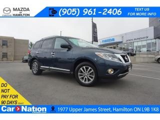 Used 2015 Nissan Pathfinder SL | 4X4 | REAR CAM | LEATHER | HEATED SEATS for sale in Hamilton, ON