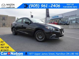 Used 2015 Mazda MAZDA3 GX | CD PLAYER | AUX INPUT | A/C| for sale in Hamilton, ON