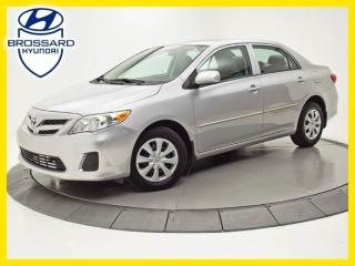 Used 2011 Toyota Corolla CE, A/C, PORTES ÉLECTRIQUES for sale in Brossard, QC
