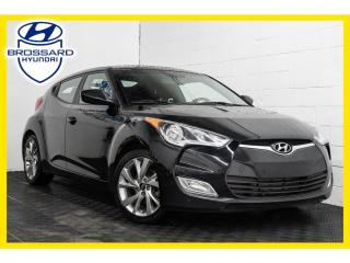 Used 2016 Hyundai Veloster SIÈGES CHAUFFANTS, BLUETOOTH, CRUISE for sale in Brossard, QC