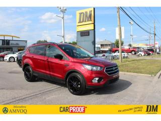 Used 2018 Ford Escape SE CAMERA SIÈGES CHAUFFANTS for sale in Salaberry-de-Valleyfield, QC