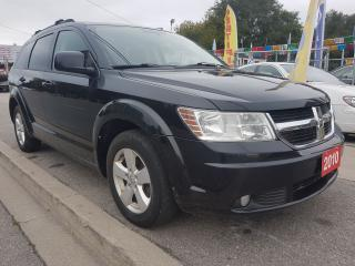 Used 2010 Dodge Journey SXT - EXTRA CLEAN - 7 SEATS - BLUETOOTH - ALLOYS for sale in Scarborough, ON