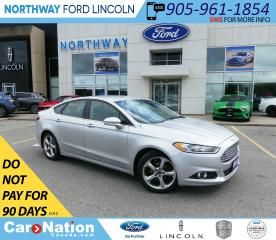 Used 2015 Ford Fusion SE | NAV | BACKUP CAM | APPEARANCE PKG | for sale in Brantford, ON