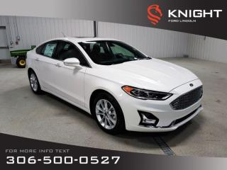 Used 2019 Ford Fusion Energi Titanium for sale in Moose Jaw, SK