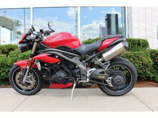 Used 2016 Triumph Speed Triple R for sale in Oakville, ON