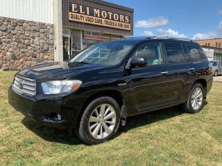 Used 2009 Toyota Highlander Hybrid LIMITED AWD 7 PASS NAVI  BACK UP CAMERA BLUETOOTH for sale in North York, ON