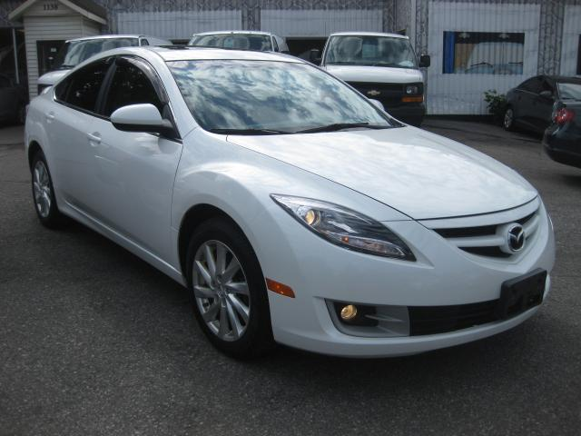 2011 Mazda MAZDA6 4cyl Auto AC Sunroof PM PW PL htd Leather