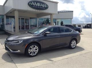 Used 2015 Chrysler 200 Limited / HEATED SEATS / NO PAYMENTS FOR 6 MONTHS for sale in Tilbury, ON