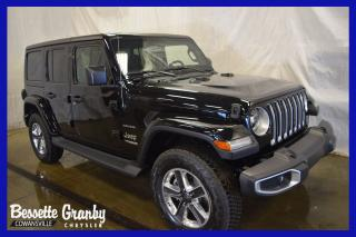Used 2019 Jeep Wrangler Sahara +Turbo, 2 Toits, Navigation+ for sale in Cowansville, QC