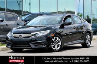 Used 2017 Honda Civic LX AUTO TRES BAS KM AUTO TRES BAS KM BLUETOOTH CRUISE for sale in Lachine, QC
