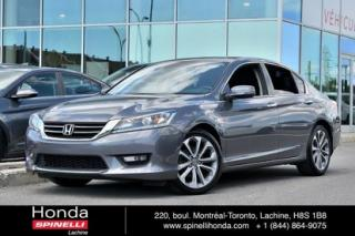 Used 2015 Honda Accord Sport AUTO TOIT MAGS AUTO TOIT MAGS BLUETOOTH for sale in Lachine, QC