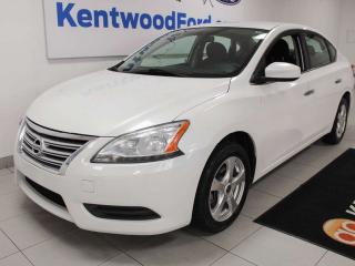 Used 2014 Nissan Sentra FWD, keeping it simple for sale in Edmonton, AB