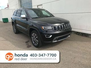 Used 2018 Jeep Grand Cherokee Limited 4WD Remote Start Back Up Camera for sale in Red Deer, AB