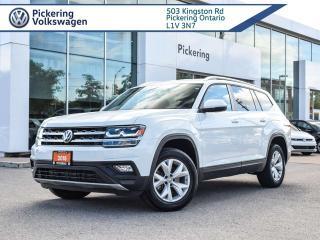 Used 2018 Volkswagen Atlas COMFORTLINE!! AWD!! 3.6L for sale in Pickering, ON