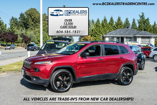 2016 Jeep Cherokee SPORT Altitude Edition, Bluetooth, New Bodystyle!