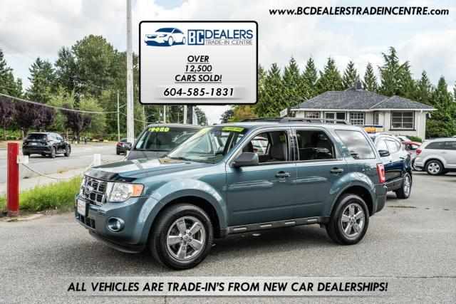 2010 Ford Escape XLT AWD, Local, No Accidents,