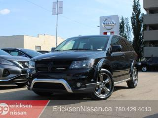 Used 2015 Dodge Journey CROSSROAD l AWD l Nav l Roof l Leather for sale in Edmonton, AB