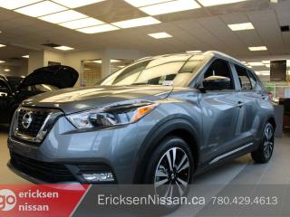New 2019 Nissan Kicks SR Remote Starter | 360 Camera | Blind Spot Warning l Demo for sale in Edmonton, AB