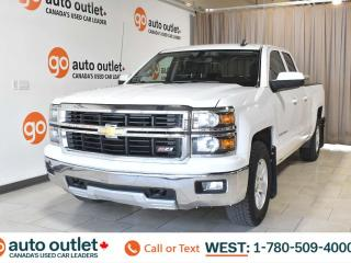 Used 2015 Chevrolet Silverado 1500 Lt, 5.3L V8, 4x4, Double Cab, OnStar Navigation, Cloth seats, Bluetooth for sale in Edmonton, AB