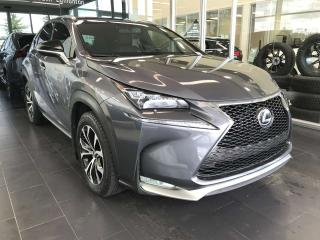 Used 2016 Lexus NX 200t F-SPORT AWD, POWER HEATED LEATHER SEATS, NAVI, SUNROOF, KEYLESS IGNITION for sale in Edmonton, AB